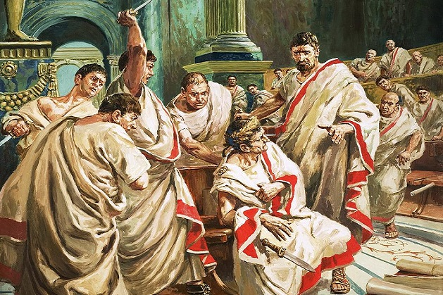 """juliu caesar There are two ways to see the new production of """"julius caesar,"""" directed by  nicholas hytner, that opened at london's bridge theatre last."""