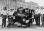 Automotive Defect Broken Car Wreck Usa 1923
