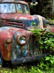 Old Rusty Car Truck Ford Automobile Vehicle