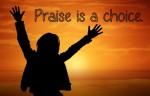 praise is a choice