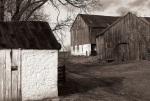 Antietam Maryland Historical Black And White Barn