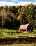 Connecticut Landscape Scenic Barn Farm Rural Sky