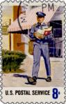 usps letter carrier stamp