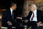 Billy Graham with Barack Obama