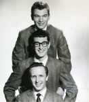 Buddy Holly & The Crickets publicity portrait for Coral Records.
