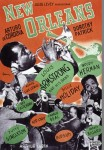 NEW ORLEANS POSTER LOUIS ARMSTRONG BILLIE HOLIDAY