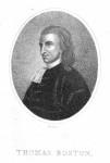 NPG D9311; Thomas Boston the Elder by Robert Scott, after  Unknown artist