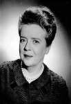 Frances Bavier, who is probably best known for her role as Aunt Bea on The Andy Griffith Show.