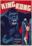 Danish movie poster for King Kong