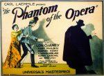 Lobby card for the 1925 film The Phantom of the Opera