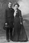 Harry Longabaugh, alias the Sundance Kid, and Etta Place. Courtesy of the Library of Congress